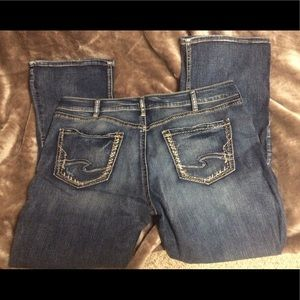 Silver Avery slim Boot Jeans W36/L31